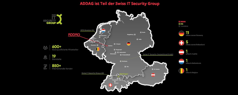 ADDAG ist Teil der Swiss IT Security Group