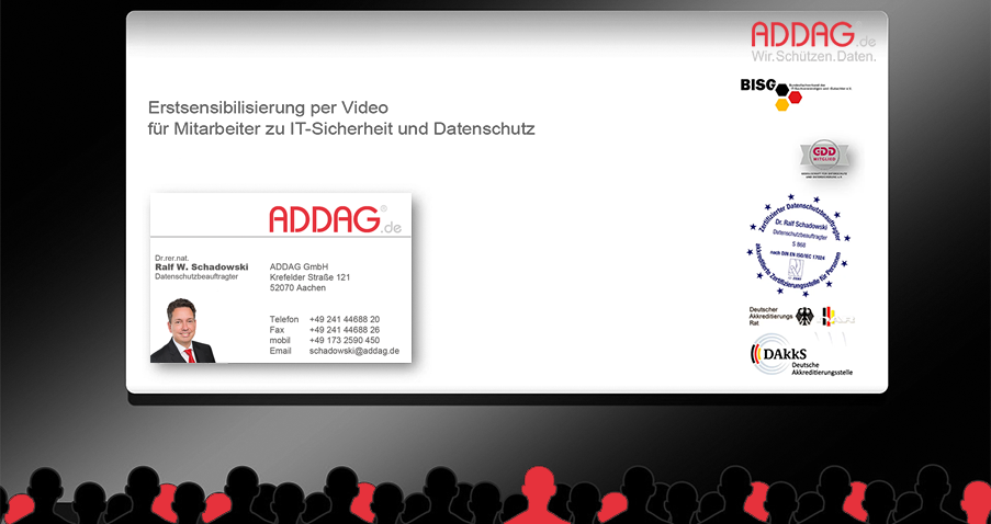 Mitarbeitersensibilisierung per Video